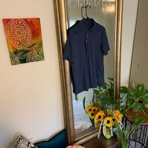 Men's medium Ralph Lauren polo navy blue